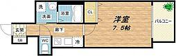 プレサンス堺筋本町駅前[4階]の間取り