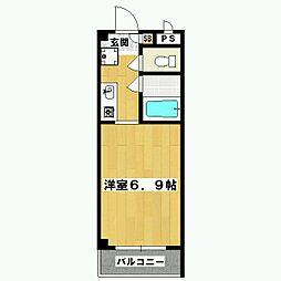 AZIII[203号室]の間取り