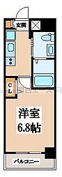 M'プラザ小阪駅前[8階]の間取り