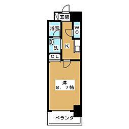 CASSIA大曽根[14階]の間取り