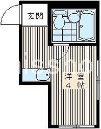 4742−セゾン荻窪[203号室]の間取り