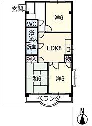 花水木[1階]の間取り