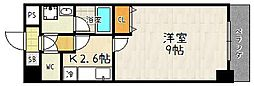 エンゼルプラザ大津中央[207号室]の間取り
