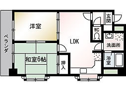メゾン・ド・千里[2階]の間取り