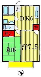サークルM2[1階]の間取り