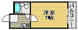 ピアコート[203号室]の間取り