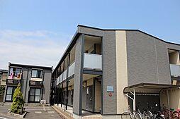 愛知県あま市篠田八原の賃貸アパートの外観