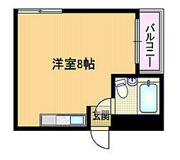 コーポヤマト[3階]の間取り
