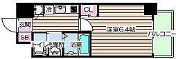 大阪府大阪市北区堂山町の賃貸マンションの間取り
