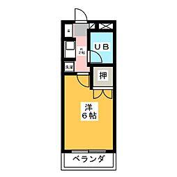 大仁マンションII[2階]の間取り