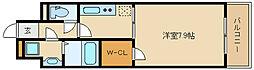 オレンジハウス エクセレント[4階]の間取り