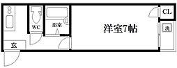サンスリーハイツ京橋[3階]の間取り