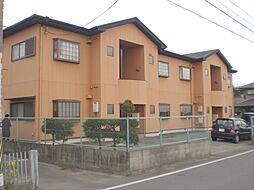 三重県松阪市岡本町の賃貸アパートの外観