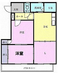 コンコードHAYASHI[0103号室]の間取り