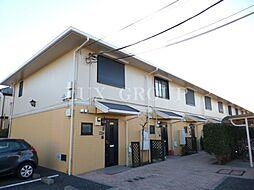 東京都国分寺市西町2丁目の賃貸アパートの外観