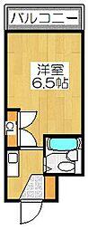 ソグノコート[3階]の間取り
