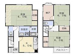 [一戸建] 神奈川県横須賀市西浦賀4丁目 の賃貸【/】の間取り