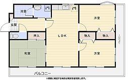 熊谷クレインIビル[301号室]の間取り