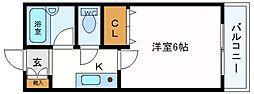 セレーノ井田[405号室号室]の間取り