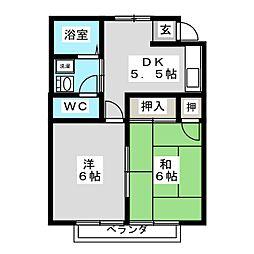 メゾンひかり I[2階]の間取り