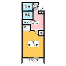 コラルリーフ21[2階]の間取り