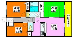 ローレル・フラッツ 204号室[2階]の間取り