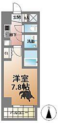 アーデンタワー西本町[7階]の間取り