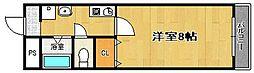 マンショントミー[2階]の間取り