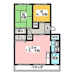 むつなメゾン[4階]の間取り