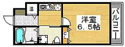 WIN北花田[1階]の間取り