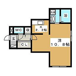 Prestige Sapporo[3階]の間取り