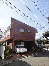 東京都目黒区自由が丘2丁目の賃貸アパートの外観