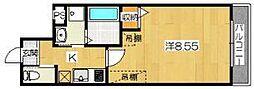K'sメゾン左京[2階]の間取り