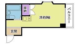 JPアパートメント摂津II[207号室]の間取り