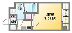 セレニテ日本橋SUD[2階]の間取り