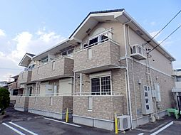 三重県三重郡川越町大字亀須新田の賃貸アパートの外観