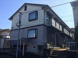 東京都八王子市緑町の賃貸アパートの外観
