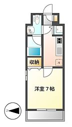 プロシード新栄[8階]の間取り