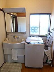 洗面化粧台です...