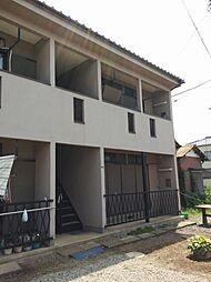 埼玉県富士見市上沢1丁目の賃貸アパートの外観