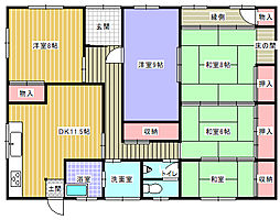 愛知県知多郡阿久比町大字横松字中側