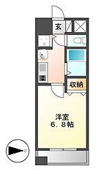 プレサンス桜通り葵[8階]の間取り