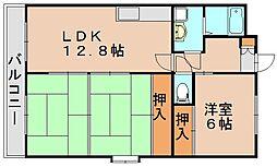シャトレYK[4階]の間取り