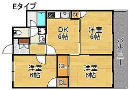 ロイヤルカトレア[8階]の間取り
