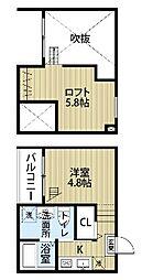 cordial上小田井 (コーディアルカミオタイ)[2階]の間取り