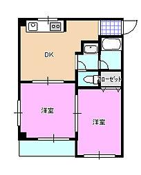 グレイスマンション R01[4階]の間取り