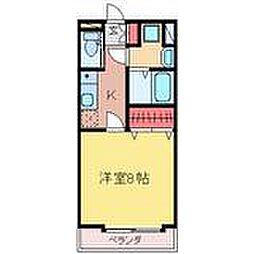 プランドール壱番館[3階]の間取り