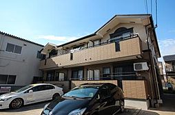 愛知県名古屋市中川区上流町2丁目の賃貸アパートの外観