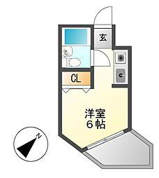 メゾン・ド・覚王山[4階]の間取り