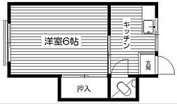 マンション大竹[302号室]の間取り